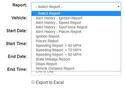 Peak GPS Reports